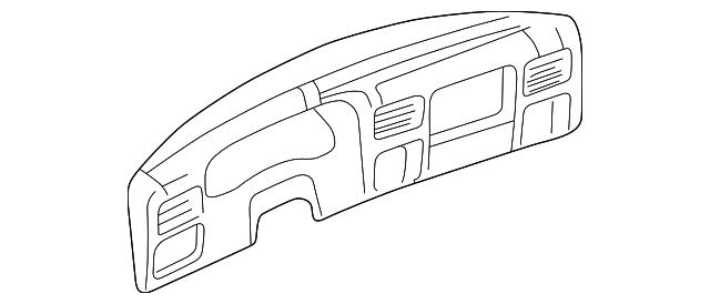 Genuine Ford Cluster Panel 5c3z 25044d70 Cab