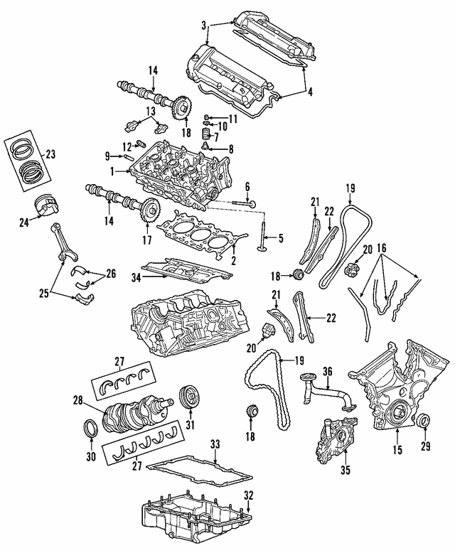 Valve Cover - Ford (6F9Z-6582-AB)