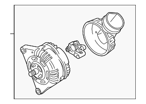 Alternator - Volkswagen (078-903-016-SX)
