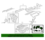 Oil Filter Housing Adapter - GM (12645326)