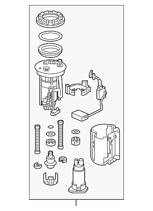 Module Set, Fuel Pump - Honda (17045-TY2-A00)