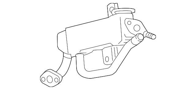 toyota egr cooler  25680