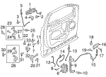 Handle Assembly - Door - Outer - Ford (FL3Z-1522405-AH)