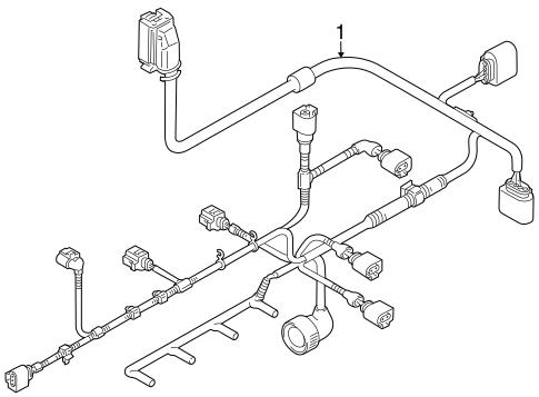 Wiring Harness For 2012 Volkswagen Jetta