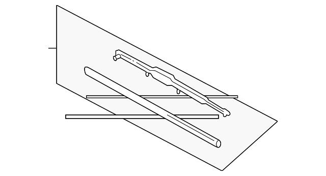 Air Cleaner Element 17220-P72-505 Genuine Acura