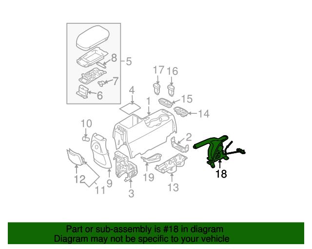 Genuine Hyundai 46720-2E100-LK Gear Shift Lever Knob Assembly