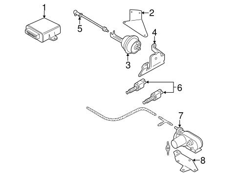 cruise control system for 1998 volkswagen passat #0