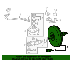 Brake Booster - Mercedes-Benz (001-430-07-08)