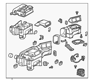 Heater Assembly - Mercedes-Benz (202-830-06-62)