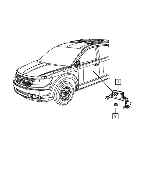 Sensors for 2016 Dodge Journey #3
