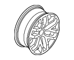 Wheel, Alloy - Ford (HL3Z-1007-B)