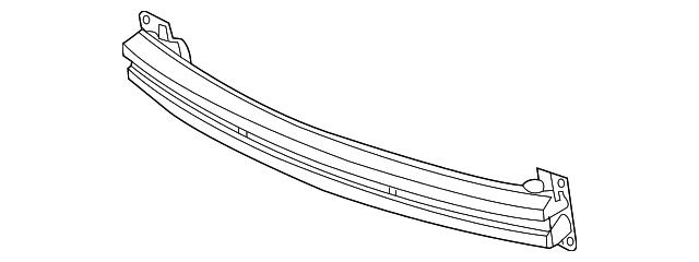 Genuine Kia 86614-1M300 Bumper Bracket Assembly