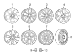 Wheel, Alloy - Mopar (5SQ161STAB)