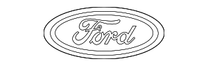 Emblem Assembly - Ford (CL3Z-9942528-B)