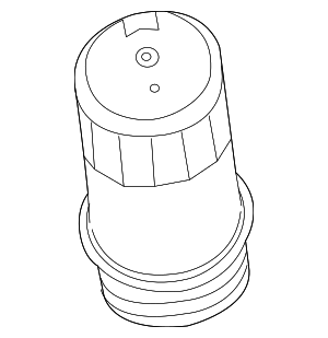 Filter Cover - Mercedes-Benz (276-180-00-38)