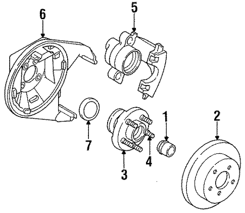 Rear Brakes For 1996 Dodge Neon