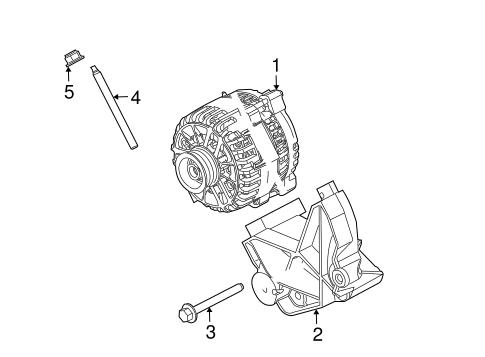 alternator for 2005 ford mustang