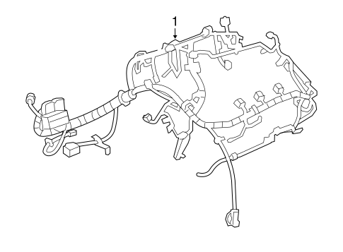 chevy malibu wiring schematics wiring harness for 2015 chevrolet malibu  lt  gmpartsnow  2015 chevrolet malibu  lt