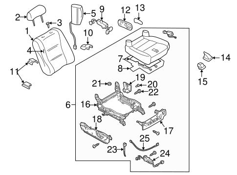 Mazda Seat Switch Ta0357155 on Mazda Millenia For Sale