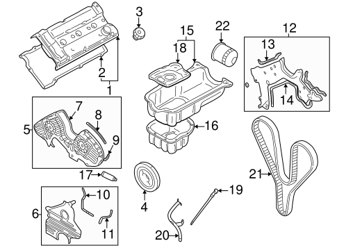 Engine Parts For 2003 Hyundai Sonata Hyundai Of Cookeville