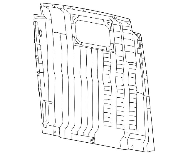 2014 2018 Ram Trim Panel 5lf92lwraa