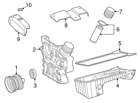 Engine Parts For 1998 Mercedes Benz C 230
