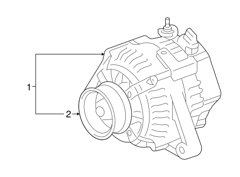 ELECTRICAL/ALTERNATOR for 2013 Toyota Venza #1