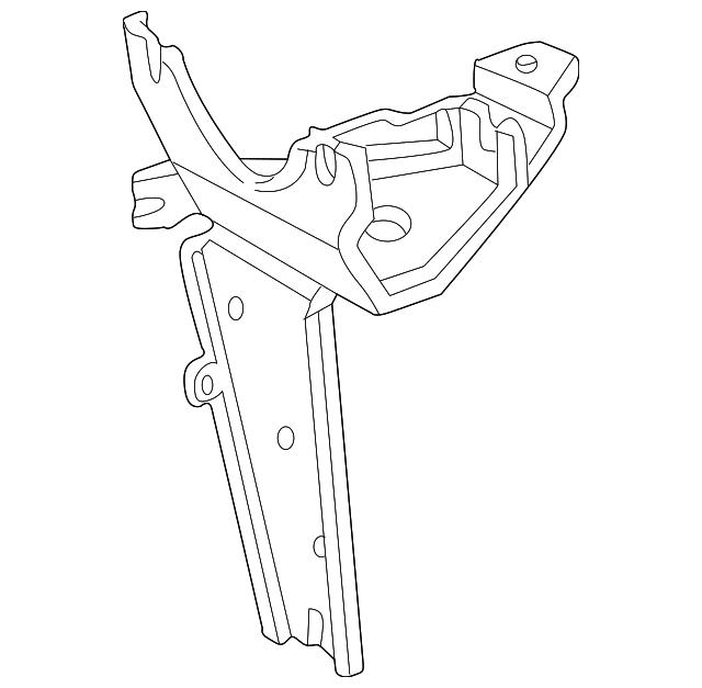 1998-1999 Acura RL SEDAN Bracket, Modulator 57115-SZ3-G02