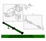 Drive Shaft Assembly - BMW (26-11-7-609-365)