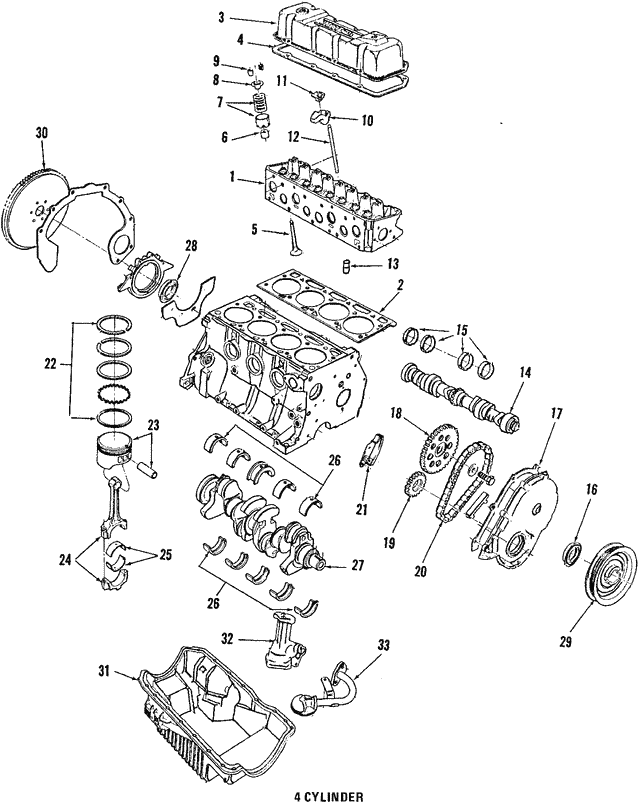 Camshaft Gear - Ford (E43Z6256A)