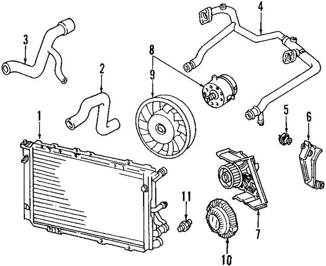 2000 2009 Audi Coolant Temp Sensor 059 919 501 A