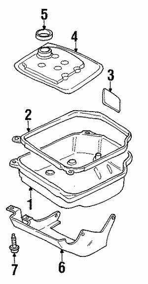 09a transmission pan gasket