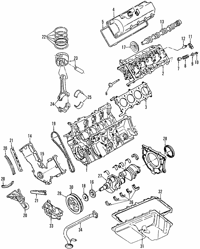 2005 2014 Ford Control Valve Solenoid 8l3z 6m280 B