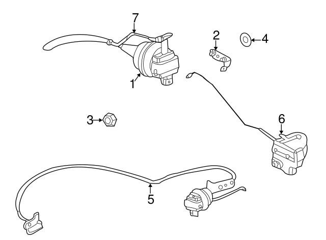 2001 Dodge Ram 1500 Sport Cargo Lamp Wiring Harness