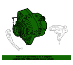 Alternator - Toyota (27060-74590-84)