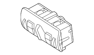 Headlight Switch - Volvo (31443849)