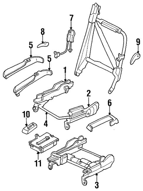 Power Seats For 1999 Chrysler Sebring