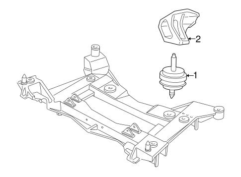 Engine Mounting For 1998 Chevrolet Corvette