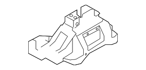 Manual Transmission Shift Lever Bracket - Hyundai (43731-F2100)