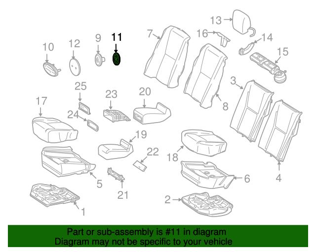 Nameplate fastener mercedes benz 912010 006000 for Mercedes benz genuine parts