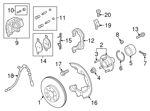 Front Brakes For 2015 Ford C Max