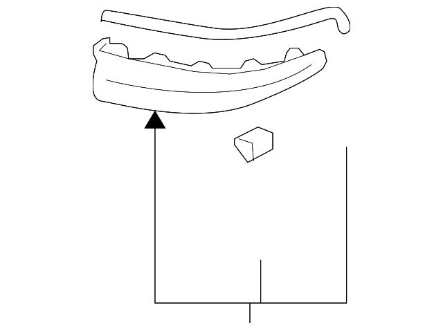 rear spoiler - toyota (76087-02010-a1)