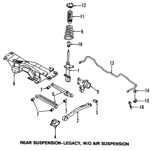 Pleasant 2004 Subaru Forester Xt Exhaust Components Diagram Basic Wiring 101 Akebretraxxcnl