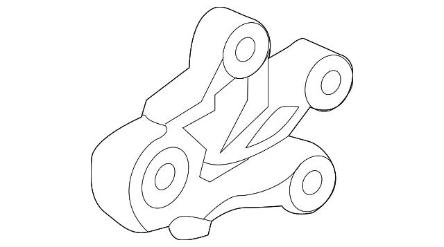 Genuine GM Mount-Trans 23291454