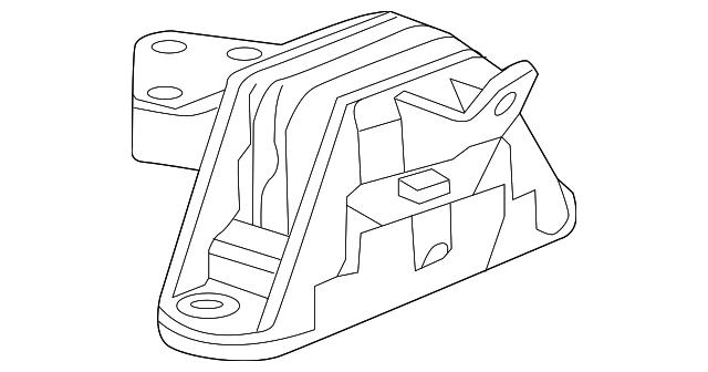 327 Chevy Engine Mount Diagram