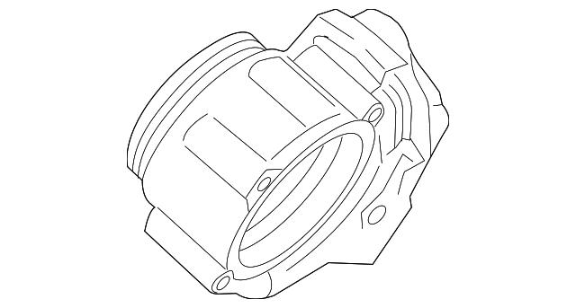 1999 2016 Porsche Throttle Body 997 605 115 01