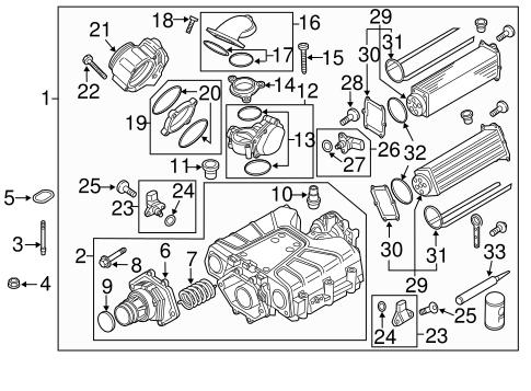 Supercharger Components For 2017 Porsche Cayenne