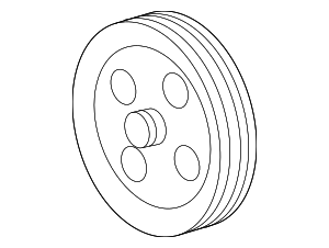 Pulley - GM (12686386)
