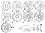 Wheel, Alloy - Mopar (5LN87GSAAA)
