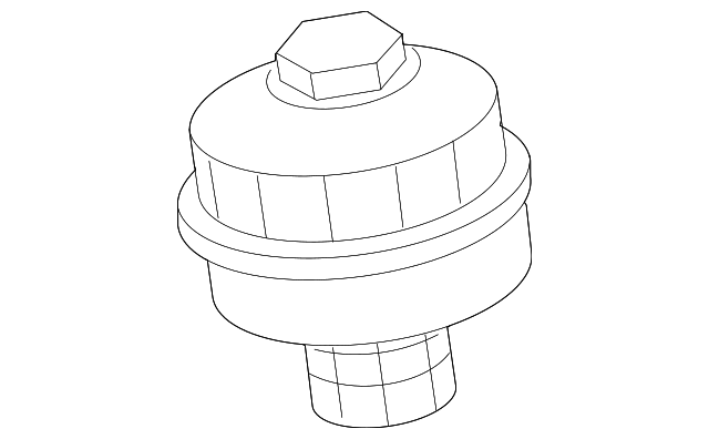 Volvo S60 Fuel Filter Housing
